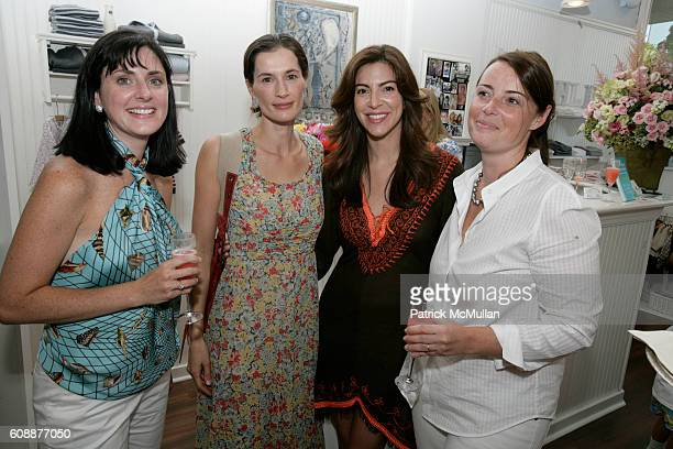 Allison Parlante Annette Lauer Ana Maria Perez and Christina Peffer attend HATCHLINGS Spring 2008 HATCH Boys Collection hosted by ANNETTE LAUER...