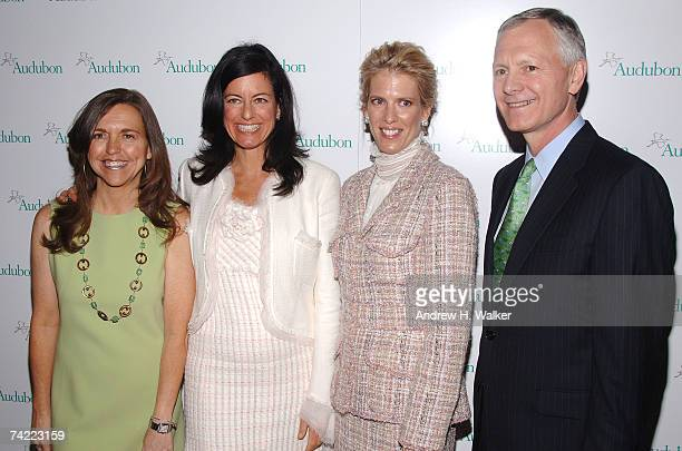 Allison Rockefeller Laurie David Deirdre Imus and CEO and president of the National Audubon Society John Flicker attend the National Audubon...