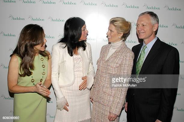 Allison Rockefeller Laurie David Deirdre Imus and John Flicker attend THE NATIONAL AUDUBON SOCIETY Presents the Rachel Carson Award at The...