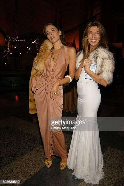 Allison Sarofim and Nina Garcia Conrod attend The Winter Dance 2006 Desert Oasis Sponsored by VERSACE at The American Museum of Natural History on...