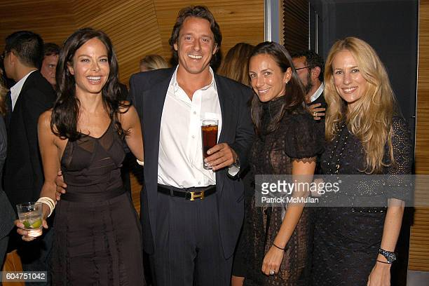 Allison Sarofim Stuart Parr Gretchen Gunlocke Fenton and Rebekah McCabe attend Signé Chanel Premiere at The Core Club on September 5 2006 in New York...