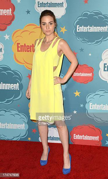 Allison Scagliotti arrives at Entertainment Weekly's Annual ComicCon Celebration at Float at Hard Rock Hotel San Diego on July 20 2013 in San Diego...