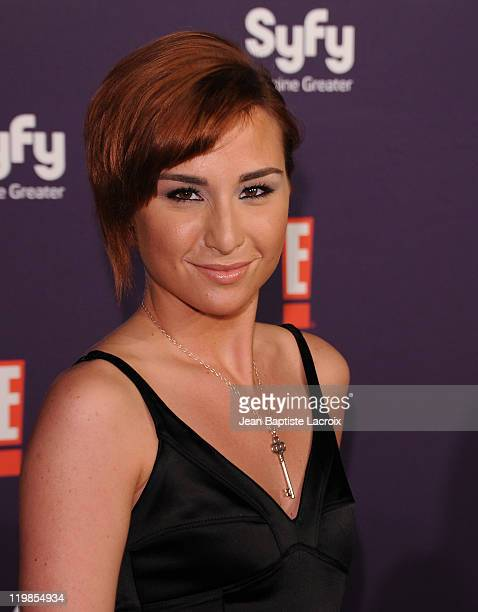 Allison Scagliotti arrives at SyFy/E ComicCon Party at Hotel Solamar on July 23 2011 in San Diego California