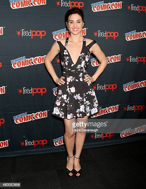 Allison Scagliotti of Stitchers attends day 2 of New York ComicCon 2015 at The Jacob K Javits Convention Center on October 9 2015 in New York City