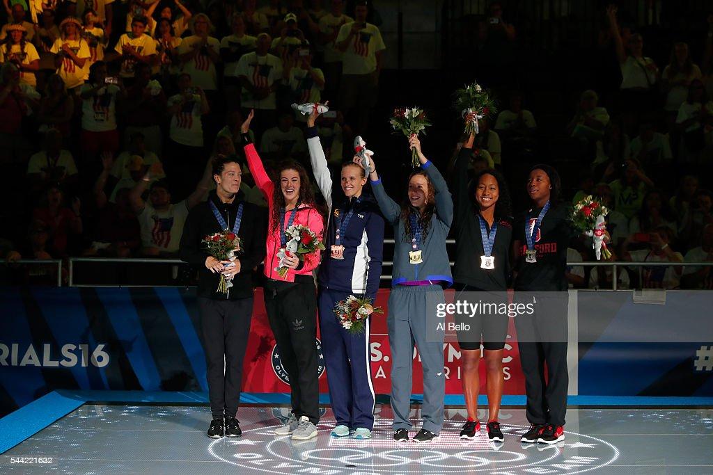 2016 U.S. Olympic Team Swimming Trials - Day 6 : News Photo