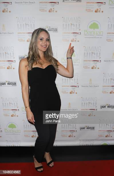 Allison Seriani attends Celebrity Sports Agent Darren Prince Host Private Event For His New Best Selling Book 'Aiming High' at Komodo on October 8...