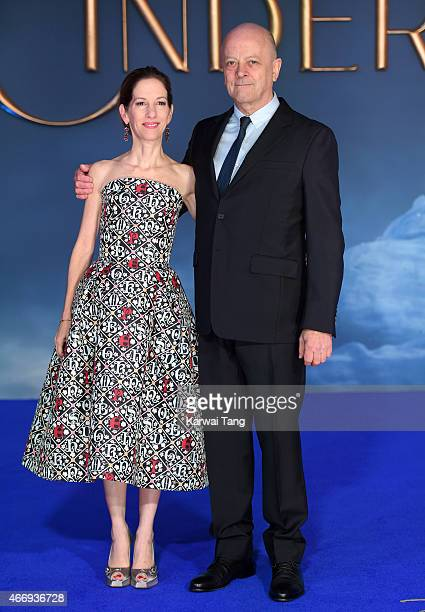 Allison Shearmur and David Barron attend the UK Premiere of 'Cinderella' at Odeon Leicester Square on March 19 2015 in London England