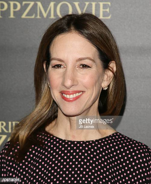 Allison Shearmur attends the premiere of Screen Gems' 'Pride and Prejudice and Zombies' on January 21 2016 in Los Angeles California