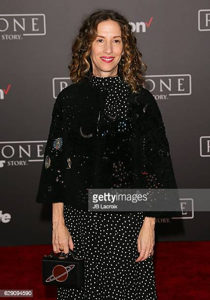 Allison Shearmur attends the Premiere of Walt Disney Pictures and Lucasfilm's 'Rogue One A Star Wars Story' on December 10 2016 in Hollywood...