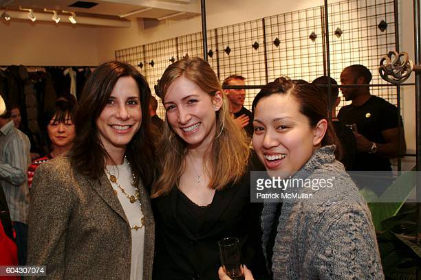 Allison Sherman Lindsay Friedman and Cheryl Mauleon attend Party to introduce Betsey Johnson's new Swimwear at Betsey Johnson Swimwear Showroom on...