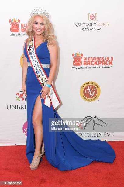 Allison Spears attends the 145th Kentucky Derby Unbridled Eve Gala at The Galt House Hotel Suites Grand Ballroom on May 03 2019 in Louisville Kentucky