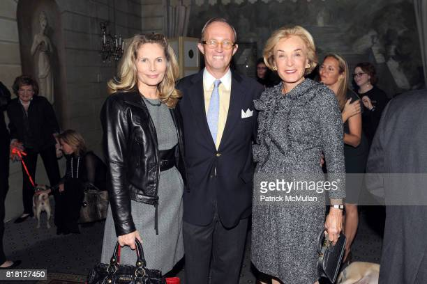 Allison Stern Mark Gibertson and Elaine Langone attend 2010 ASPCA Humane Awards Luncheon Sponsored by Hartville Group at The Pierre Hotel on November...