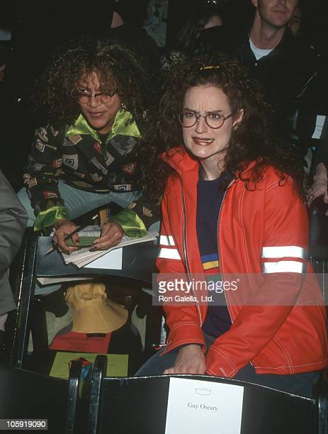 Allison Stewart and Kennedy during Seventh on Sixth Fashion by Richard Tyler at Bryant Park in New York City New York United States