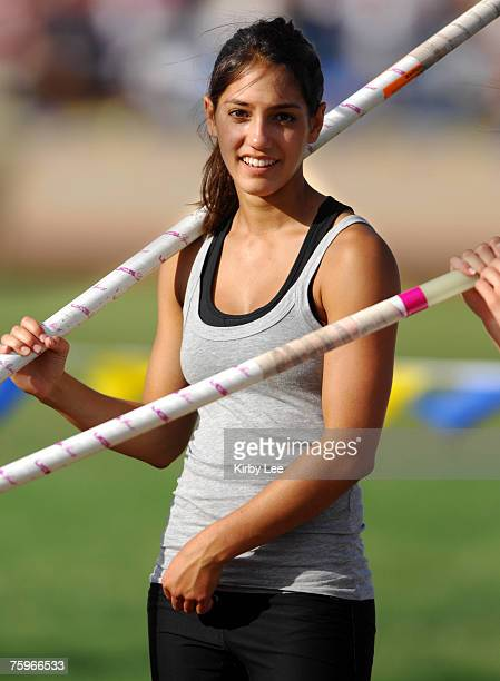 allison stokke stock photos and pictures getty images