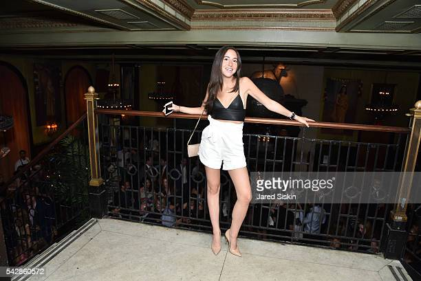 Allison Strumeyer attends AFIM Presents Celebrate Summer An Art Acquisitions Fundraiser at The Jane Hotel on June 23 2016 in New York City