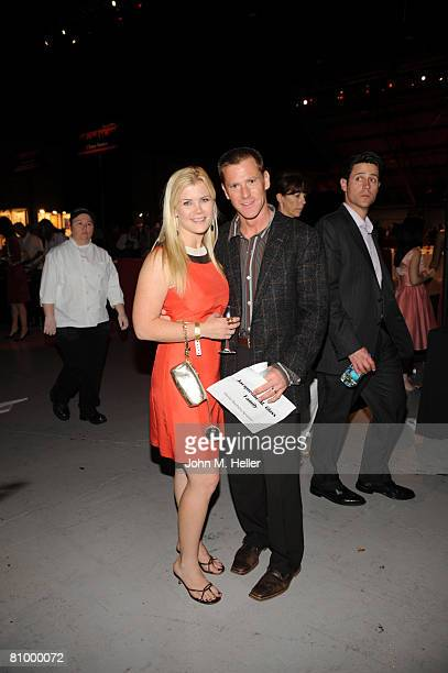 Allison Sweeney and David Sanov attend the 15th Annual Uncork A Wish Wine Tasting Auction benefiting the Los Angeles chapter of the Make A Wish...