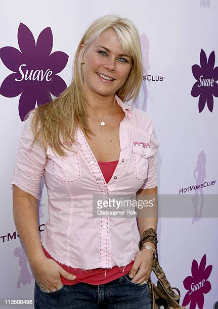 Allison Sweeney during The Suave Hot Moms Soiree Arrivals October 6 2006 in Los Angeles California United States
