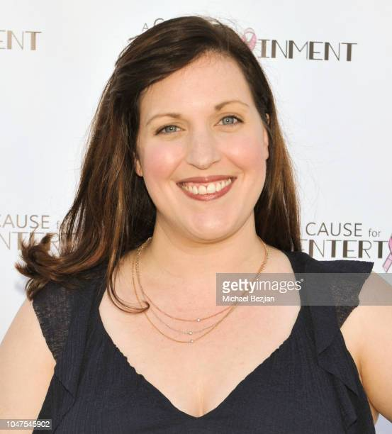 Allison Tolman arrives at The 4th Annual A Cause For Entertainment Benefit on October 7 2018 in Los Angeles California