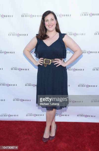 Allison Tolman attends A Cause For Entertainment's 4th annual fundraising event to fight breast cancer at Candela on October 7 2018 in Los Angeles...
