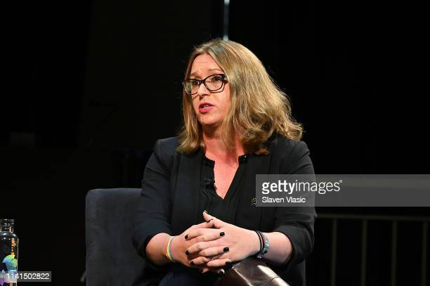 Allison VanKuiken attends Out in Office panel at Tribeca Celebrates Pride Day at 2019 Tribeca Film Festival at Spring Studio on May 4 2019 in New...