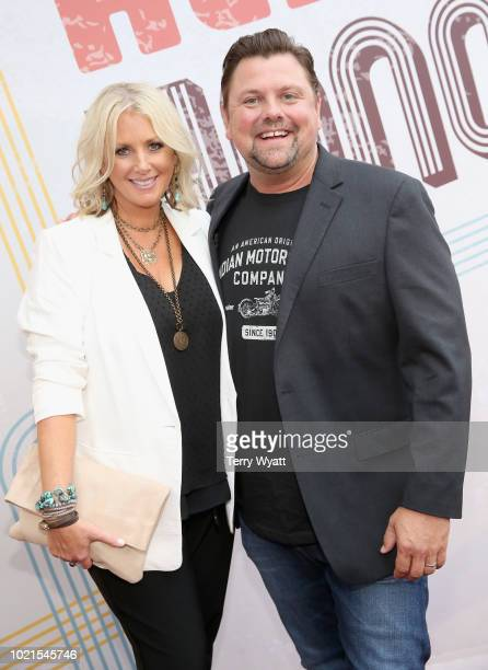 Allison Warren and Storme Warren attend the 12th Annual ACM Honors at Ryman Auditorium on August 22 2018 in Nashville Tennessee