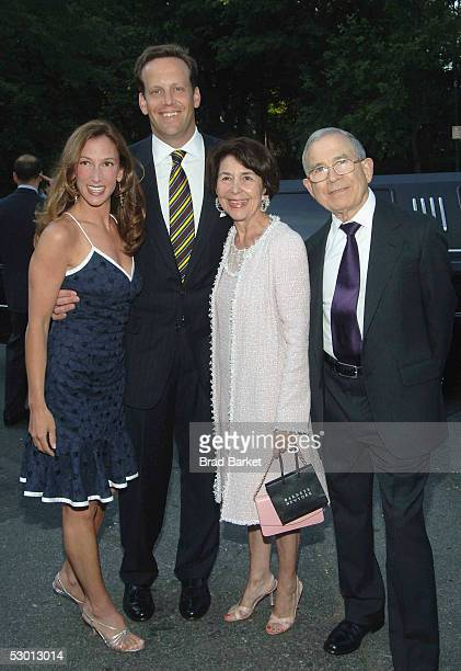 Allison Waterman Tod Waterman Susan Newhouse and Donald Newhouse arrive at the Fresh Air Funds Annual Spring Gala to Salute American Heroes at Tavern...