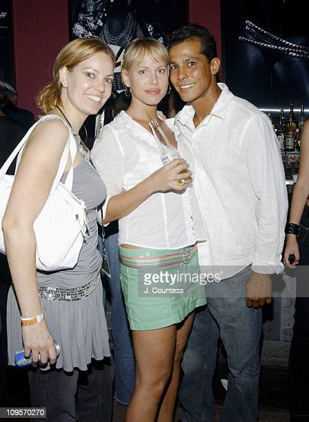 Allison Weiss Christy Cumming and Jose Irizarry during Post VMA Private Party Hosted By Scott Stapp Lincoln Road Magazine and Liquid Ice Energy Drink...