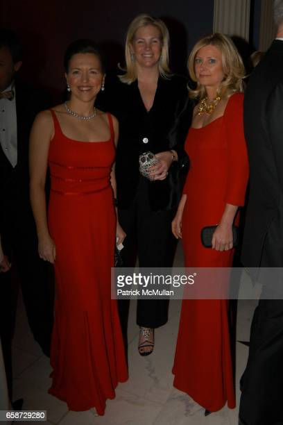 Allison Whipple Rockefeller Calvert Moore and Cynthia Lufkin attend The Winter Ball hosted by the Director's Council of the Museum of the City of New...