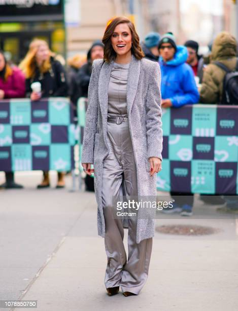 Allison Williams at AOL Build studios on January 7 2019 in New York City
