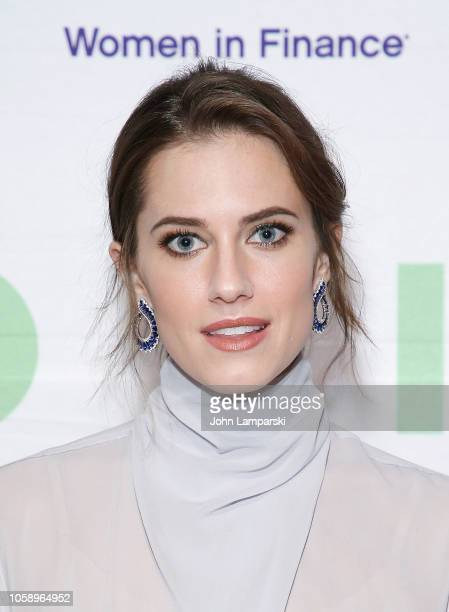 Allison Williams attends 100 Women In Finance's New York gala benefiting Horizons National at Cipriani 42nd Street on November 7 2018 in New York City