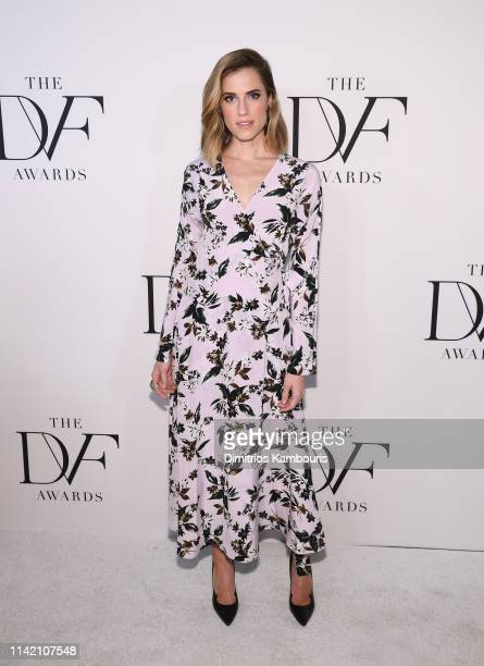 Allison Williams attends 10th Annual DVF Awards at Brooklyn Museum on April 11 2019 in New York City