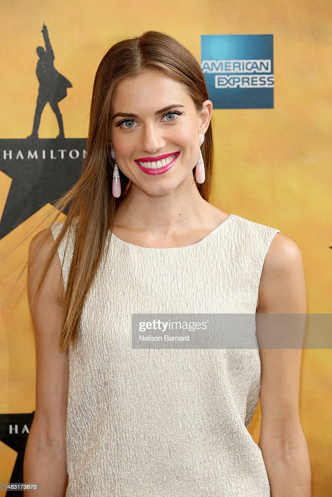 Allison Williams attends 'Hamilton' Broadway Opening Night at Richard Rodgers Theatre on August 6, 2015 in New York City.