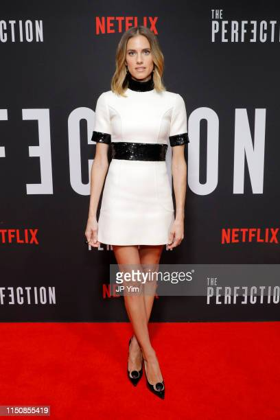 Allison Williams attends Netflix's New York Special Screening Of THE PERFECTION at Metrograph on May 21 2019 in New York City