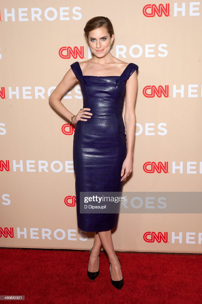 Allison Williams attends the 2013 CNN Heroes at American Museum of Natural History on November 19, 2013 in New York City.