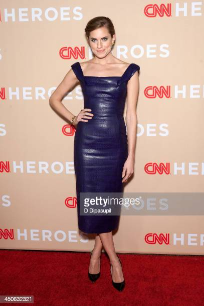 Allison Williams attends the 2013 CNN Heroes at American Museum of Natural History on November 19 2013 in New York City