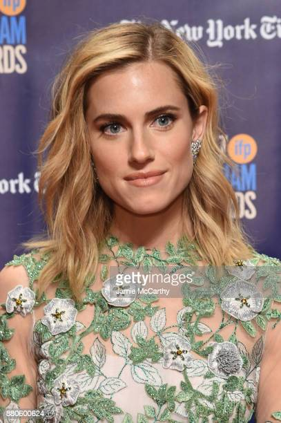 Allison Williams attends the 2017 IFP Gotham Awards at Cipriani Wall Street on November 27 2017 in New York City