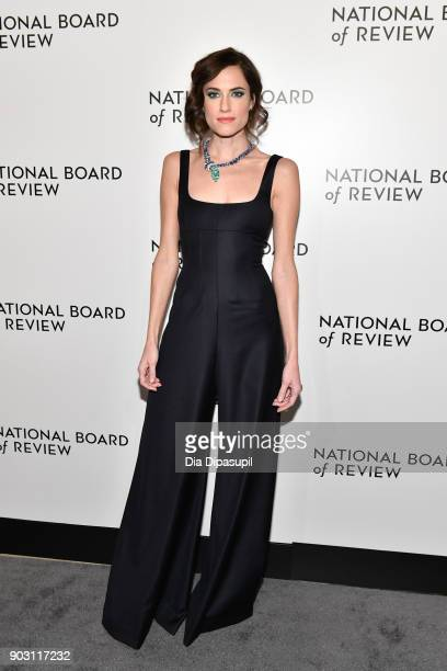 Allison Williams attends the 2018 National Board of Review Awards Gala at Cipriani 42nd Street on January 9 2018 in New York City