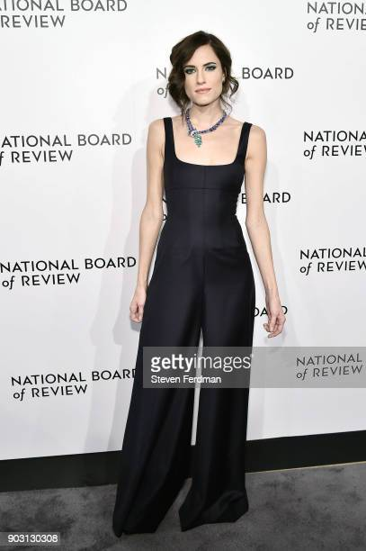 Allison Williams attends the 2018 The National Board Of Review Annual Awards Gala at Cipriani 42nd Street on January 9 2018 in New York City