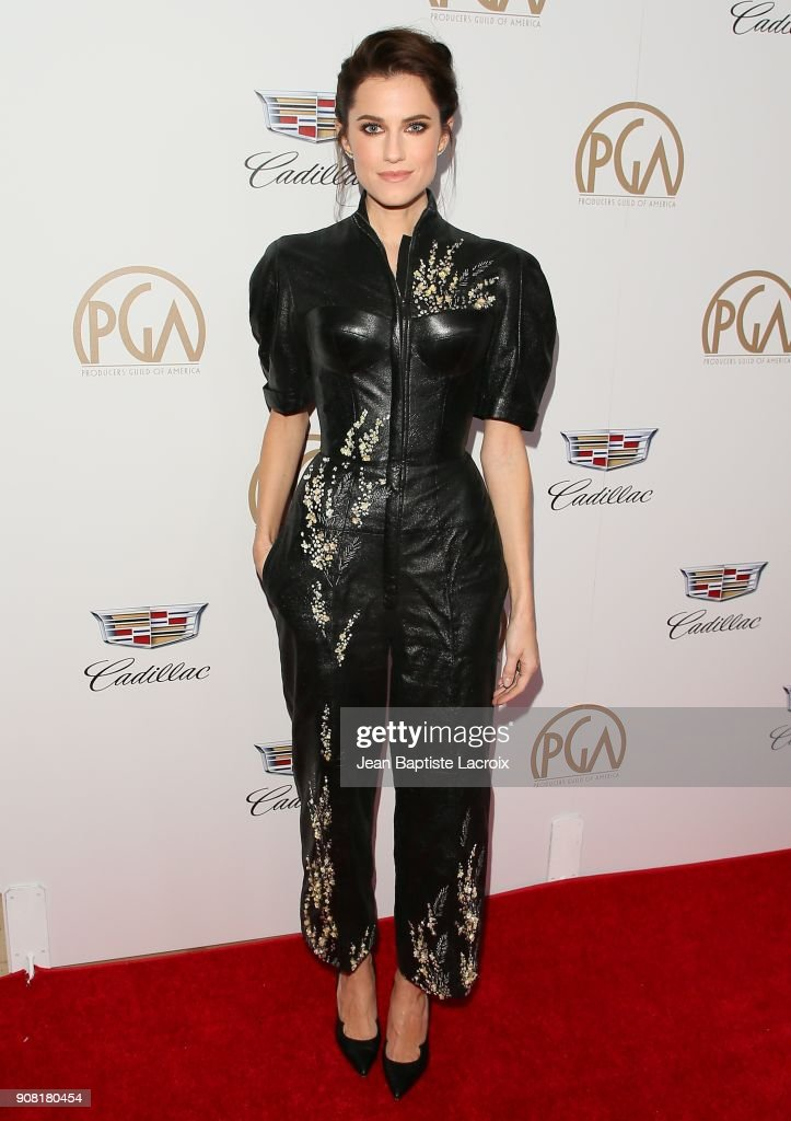 Allison Williams attends the 29th Annual Producers Guild Awards at The Beverly Hilton Hotel on January 20, 2018 in Beverly Hills, California.