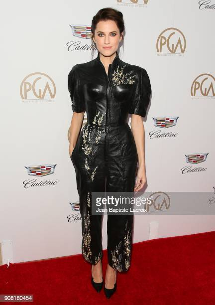 Allison Williams attends the 29th Annual Producers Guild Awards at The Beverly Hilton Hotel on January 20 2018 in Beverly Hills California