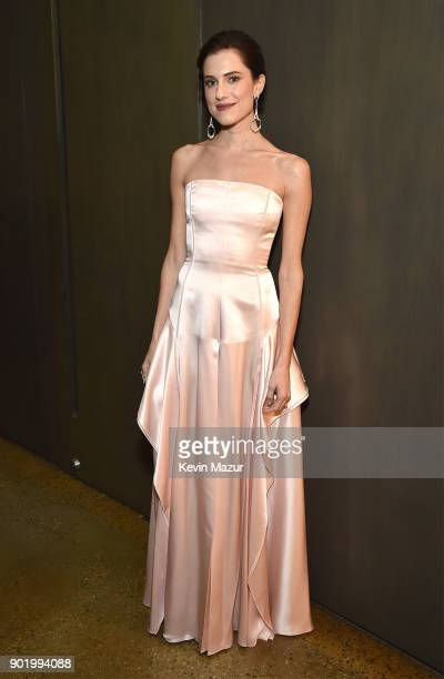 Allison Williams attends the 7th Annual Sean Penn Friends HAITI RISING Gala benefiting J/P Haitian Relief Organization on January 6 2018 in Hollywood...