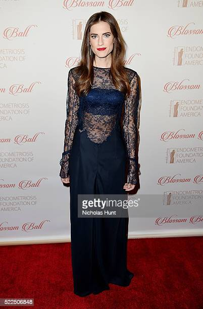 Allison Williams attends the 8th Annual Blossom Ball at Pier Sixty at Chelsea Piers on April 19 2016 in New York City