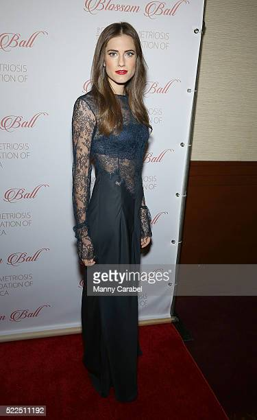 Allison Williams attends the 8th Annual Blossom Ball benefiting the Endometriosis Foundation of America at Pier Sixty at Chelsea Piers on April 19...