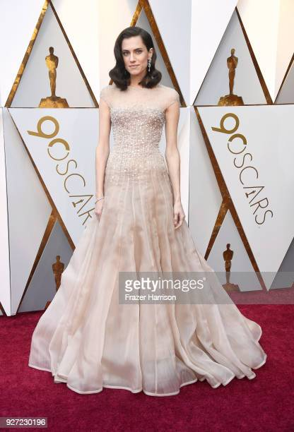 Allison Williams attends the 90th Annual Academy Awards at Hollywood Highland Center on March 4 2018 in Hollywood California