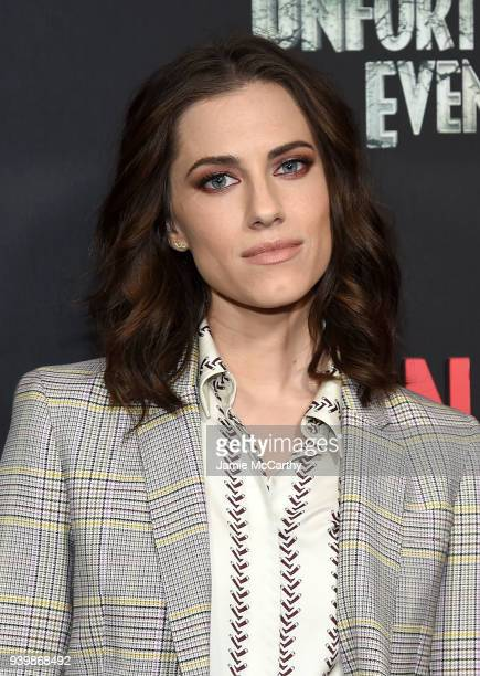 Allison Williams attends the A Series Of Unfortunate Events Season 2 Premiere at Metrograph on March 29 2018 in New York City