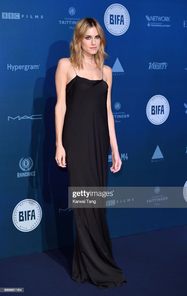 Allison Williams attends the British Independent Film Awards held at Old Billingsgate on December 10, 2017 in London, England.