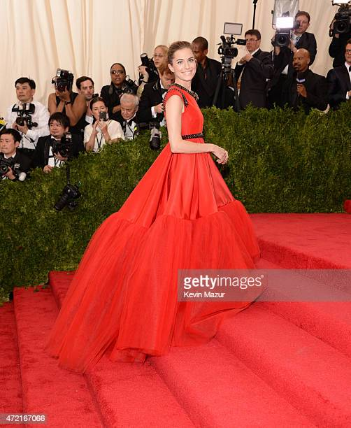 Allison Williams attends the 'China Through The Looking Glass' Costume Institute Benefit Gala at Metropolitan Museum of Art on May 4 2015 in New York...