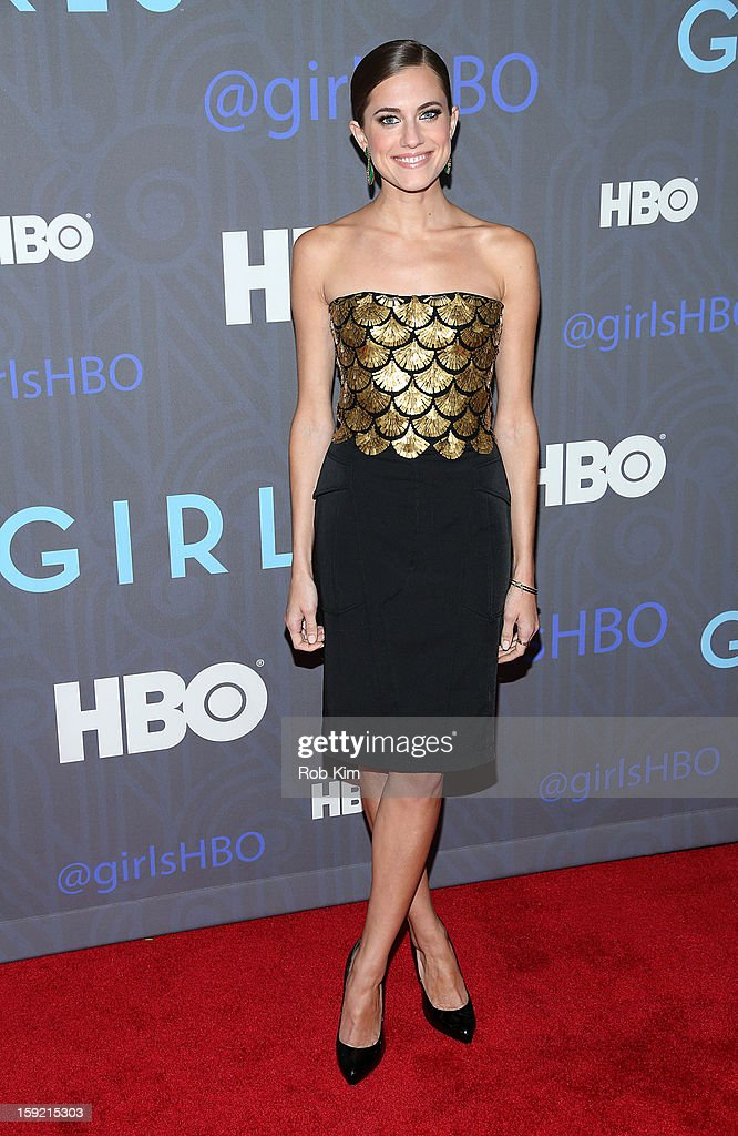 "HBO Hosts The Premiere of ""Girls"" Season 2 - Outside Arrivals : ニュース写真"