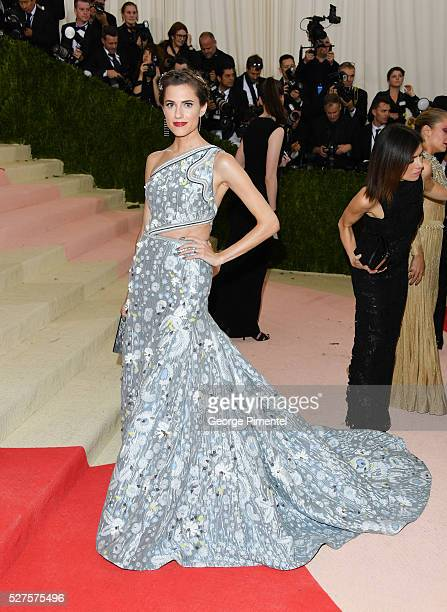 Allison Williams attends the 'Manus x Machina: Fashion in an Age of Technology' Costume Institute Gala at the Metropolitan Museum of Art on May 2,...