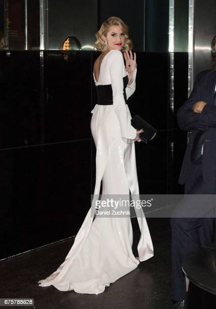 Allison Williams attends the Marc Jacobs afterparty of the Rei Kawakubo/Comme des Garcons Art Of The InBetween Costume Institute Gala at the Boom...